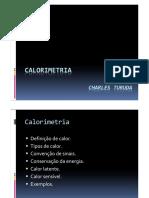 CT.calorimetria