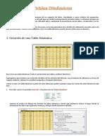Excel - Apunte - Tablas Dinámicas