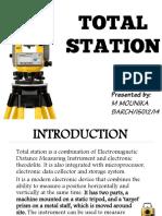 Total Station MR