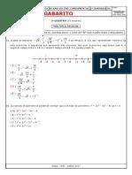 Gabarito Ae1 Matemática 8º Ano