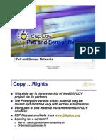8 IPv6 and Sensor Networks