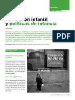 EDUCACION INFANTIL Y POLITICAS DE INFANCIA