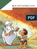 Novedades ECC Ediciones septiembre 2018