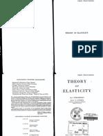 Timoshenko - Theory of Elasticity