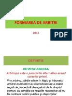 Formarea de Arbitri