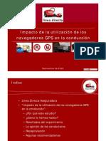 Impacto de la utilización de los navegadores GPS en la conducción