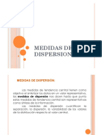 Medidas de Dispersion