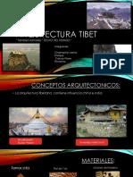 Arq. Tibet y Arq. Anasazi