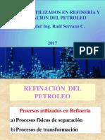 Procesos Usados en Refinería 2017-1