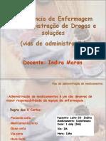 Assistência de Enfermagem Na Administração de Drogas e Soluções