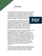 Hominización - consulta