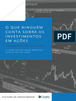 eBook O que ninguém conta sobre os investimentos em ações