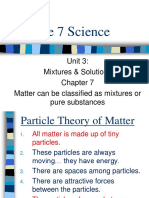 Mixtures and Solutions Part 1