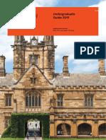 Unisyd Undergraduate Guide
