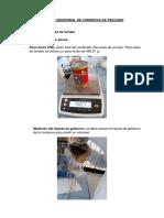 Analisis Sensorial de Conserva de Pescado Salsa de Tomate Renato