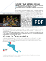 Etnias de Guatemala y Sus Características
