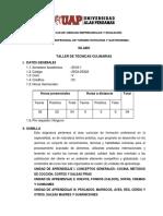 SILABO TECNICAS 3
