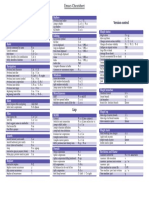 Latex Cheatsheet Template