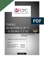 TAREA ACADEMICA N° 5 - UPC
