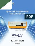 Solar Hybrid Ups Ecobrainy 1100