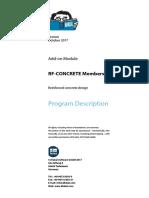 Rf Concrete Members Manual En