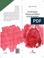 L'Uso Del Clarinetto Nelle Opere Serie Di Rossini Nel Periodo Napoletano