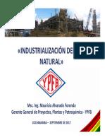 Presentación Políticas de Industrialización - CBBA Sept 2017