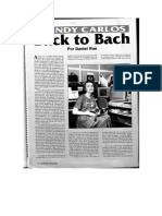 Wendy Carlos_Back to Bach