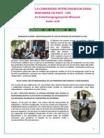 Crónica Cim Haiti Junio 2018