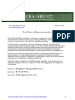 Halo Effect Study Guide Journalists