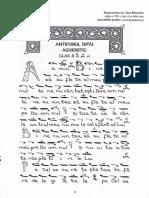 9.Psalmul 102 (Antifonul 1) Stil Irmologic