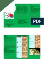 Leaflet Diet Penyakit Jantung