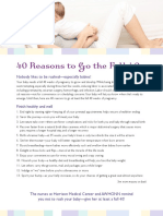 40 Reasons to Go the Full 40 Weeks
