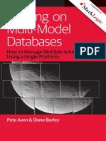 Building on Multi Model Databases
