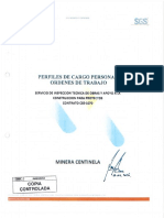 4.- Perfiles de Cargo Personal OT