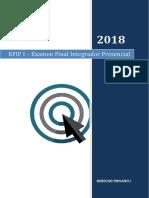 Derecho Privado i  2018