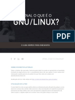 GNU LINUX Guia Rapido Para Iniciantes Pedro Delfino