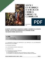 """Sesión 3 """"Los Sacramentos de La Iniciación Cristiana (I) El Bautismo y La Confirmación""""."""