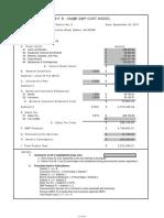Gilbert Fire Station #9 Budget Sheet