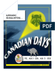 Canadian Days 2018