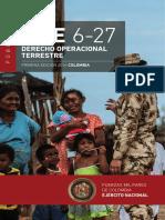 Mfe 6-27 Derecho Operacional Terrestre