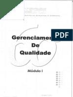 Gerenciamento Qualidade - Módulo I