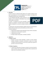 Informe de Reforestacion