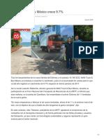 MAN Truck & Bus México crece 9.7%