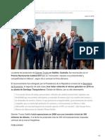 Daimler Trucks Gana Premio Nacional de Calidad en Planta de Saltillo