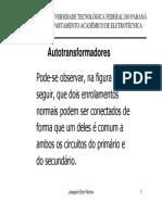 MaquinasI 09 Autotransformadores e Multiplos
