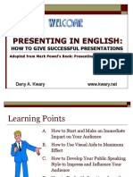 Presenting in English