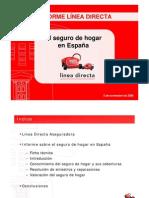 El seguro de Hogar en España