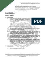 Especificaciones Nuevo Aeropuerto CD Mexico Jmm