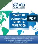 Gobernanza y Migración